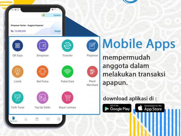 Kami Memiliki Sistem Mobile App Yang Memudahkan Anda Bertransaksi