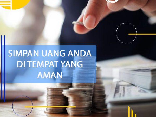 Simpan Uang Anda di Tempat Yang Aman